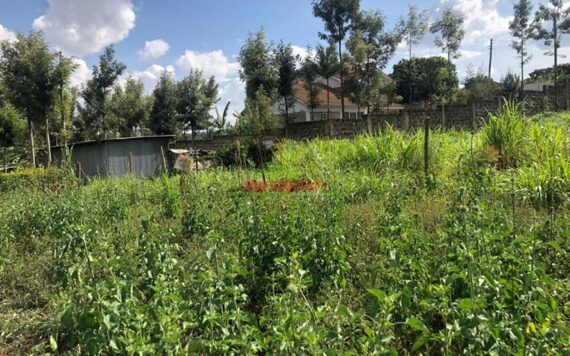 Prime Residential Plot For Sale In Ondiri Kikuyu