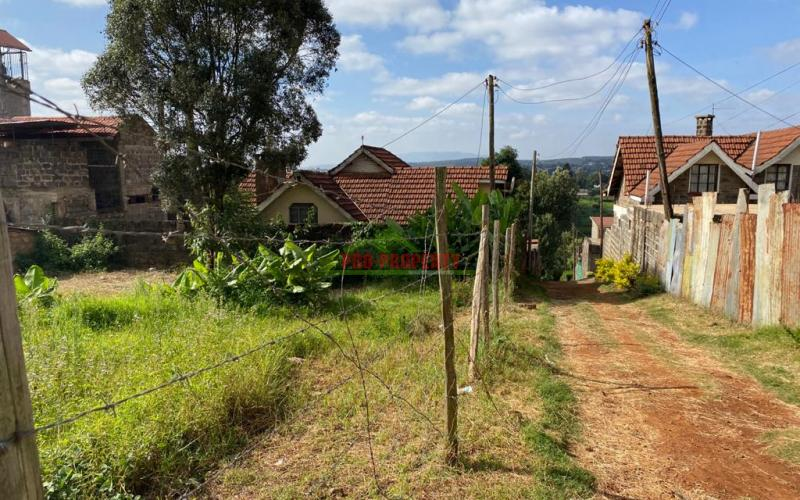 Prime Commercial Plot For Sale In Kinoo, Muthiga.