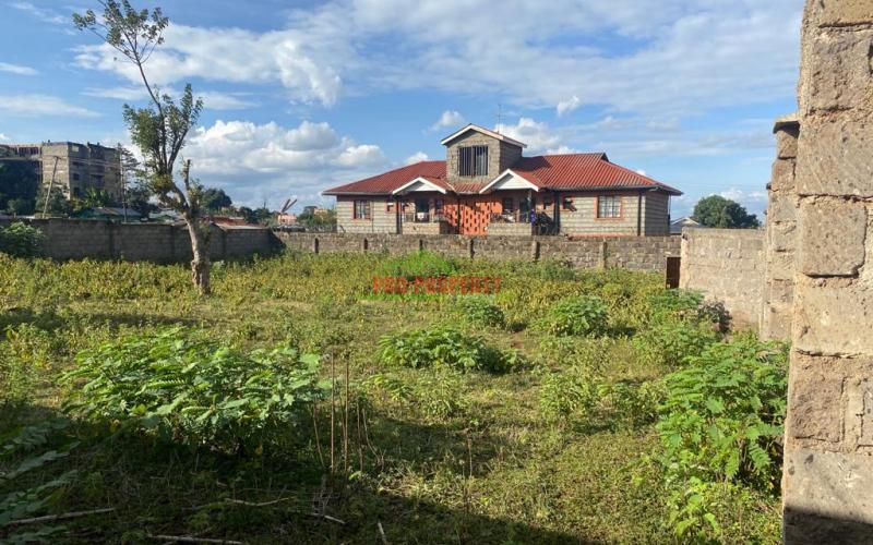 Prime Commercial Plot For Sale In Thogoto, Kikuyu