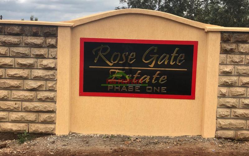 Gated Community for Sale in Kikuyu Kamangu - Rose Gate Estate